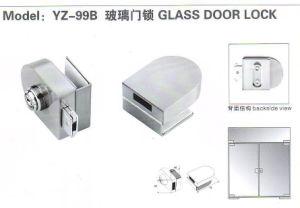 Yz-99b Zinc Alloy Glass Door Lock pictures & photos