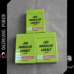 Jeg Handler Lokait Paper Poker Card pictures & photos