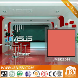 Pure Color Red Porcelain Polished Floor Tile (JM6922D16) pictures & photos