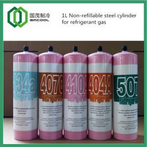Steel Cylinder for Refrigerant Gas 650g, 850g, 1kg pictures & photos