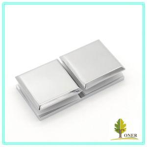 Hot-Sale 180 Degree Arc Edge Square Glass Clamp/ Zinc Alloy Glass Clamp