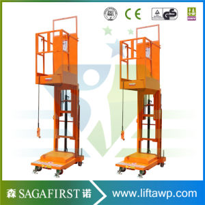 Aerial Lift Platform for Welding Lift Platform at High Place pictures & photos