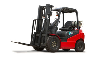 3ton Gasoline LPG Forklift Truck pictures & photos