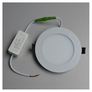 2.2USD 6W 120mm Ultrathin Round Cool White LED Panel Light