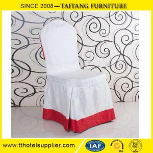 New Design Fancy Event White High Back Stretch Chair Cover for Wedding pictures & photos