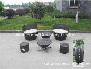 Stacktable Patio Set/Rattan Chair/Wicker End Table/Rattan Garden Furniture pictures & photos