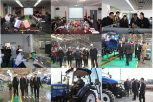 Foton Lovol Orchard, Vineyard 50HP, 60HP, 4WD Tractor with CE, OECD Certification pictures & photos
