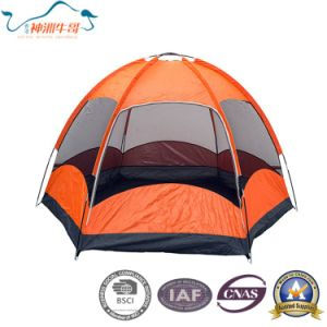 4 Person Fiberglass Family Camping Dome Beach Tent for Travelling