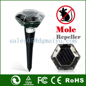 Solar Mole Repeller Ultrasonic Pest Repellent pictures & photos