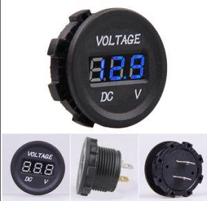 12V-24V LED Digital Display Voltmeter Voltage Meter pictures & photos