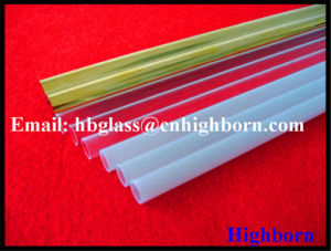 High Purity Translucent Silica Quartz Glass Tubing Supplier pictures & photos