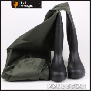 PVC One-Piece Waterproof Safety Boot (SN5201) pictures & photos
