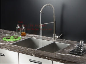 17X33 Inch Stainless Steel Under Mount Handmade Kitchen Sink pictures & photos
