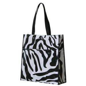 Custom Laminated Non-Woven Shopping Bags (LJ-355)