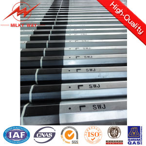 Medium Voltage Round Tapered Electrical Steel Transmission Line Poles pictures & photos