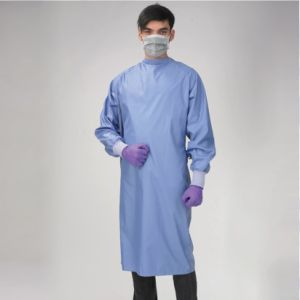 Protective Gown Surgical Autoclavable Gown Water Proof Lab Coat pictures & photos
