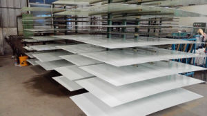 Tempered Glass White Painted with AS/NZS2208: 1996, BS6206, En12150 Certificate pictures & photos