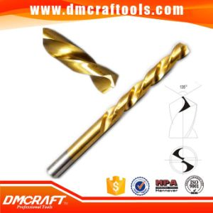 DIN338 HSS Fully Ground Titanium Coated Drill Bit pictures & photos