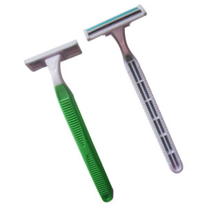 High Quality Twin Blade Disposable Razor (KD-P2007L) pictures & photos