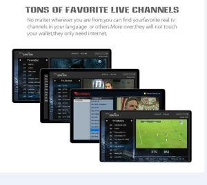 Amazing TV Box Combine Satellite with IPTV Set Top Box pictures & photos