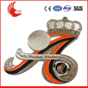 Professional Manufacture Custom Metal Cap Badge pictures & photos