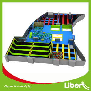 Professional Manufacturer According to Your Room Size Indoor Trampoline Park pictures & photos