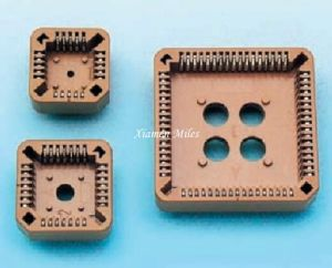 Plcc Socket SMT Connector for Board pictures & photos