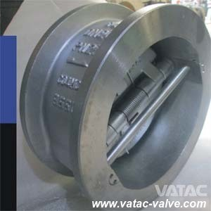 Cast Iron or Stainless Steel Lug Dual Plate Wafer Check Valve pictures & photos