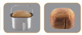 580-Watt Programmable Breadmaker Makes 1-1/2 or 2-Pound Loaves of Bread pictures & photos