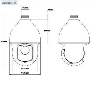 2 Megapixel 1080P 30X Ultra-High Speed IR Hdcvi PTZ Dome Camera{SD59230I-Hc} pictures & photos