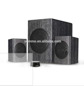 2.1CH MDF Wooden Bluetooth Speaker/Active Home Theater Speaker/Amplifier Speaker/Wireless PC Speaker/2.1CH Multimedia Speaker with Bluetooth & Wired Controller
