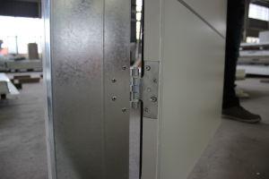 Israeli Residential Aluminium Strips Inserted Iron Interior Door pictures & photos