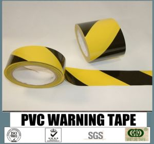 Premium Quality Cheap Self PVC Warning Tape pictures & photos