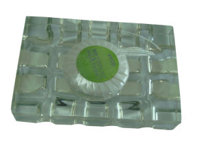 Rectangle Crystal Bathroom Soap Dish pictures & photos