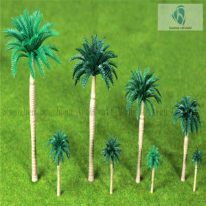 Scaled Plastic New King Coconut Tree for Landscaping