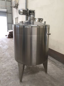Stainless Steel Tank Food with Agitator Mixer pictures & photos