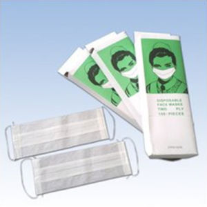Disposable Paper Face Mask with Good Price (1-ply & 2-ply) pictures & photos