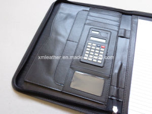 Eco-Friendly Fabric Economic File Folder with Calculator pictures & photos