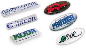 Customized PU Resin Stickers Custom 3D Dome Sticker pictures & photos