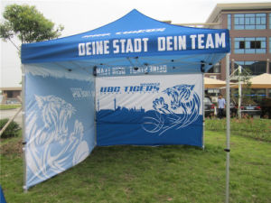 3X3m Pop up Canopy Tent with Optional Side Skirts and Backwall pictures & photos