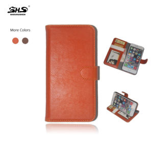 Luxury Leather Flip Wallet Smart Mobile Phone Cover Case