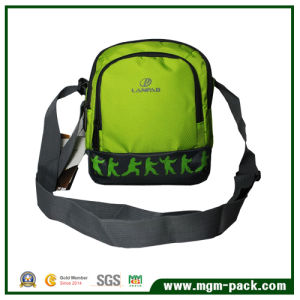 Hot Sale Factory Price Green Single Shoulder Sports Bag pictures & photos