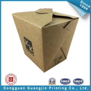 Customized Brown Color Paper Food Packing Box (GJ-box142) pictures & photos