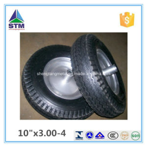 Qingdao Zinc Plated Rim Rubber Wheel pictures & photos