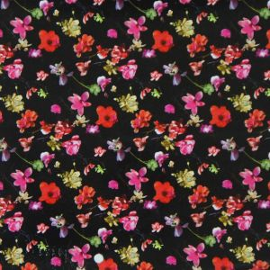 Oxford 600d High Density PVC/PU Flower Printing Polyester Fabric (KL-04) pictures & photos