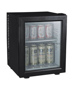Glass Door Eco-Friendly Minibar for Hotel Guest Room pictures & photos