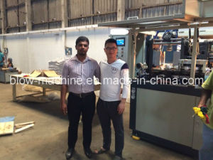 2 Cavities Fully Automatic Blowing Mold Machine with Ce pictures & photos