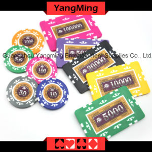 760 PCS Texas Holdem Style / Clay Sticker Poker Chip Set for Gambling Game (YM-MGBG003) pictures & photos