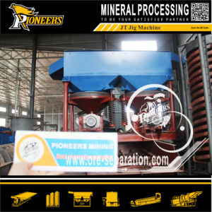 Alluvial Ore Enrichment Washing Vibrating Equipment Gold Jigger Separator Factory pictures & photos