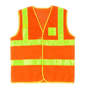 High Vis Safety Vest with ANSI07 (C2520) pictures & photos